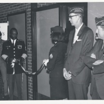 1970 Nov 22-(2ndFmR) Lee Lloyd, 4th Distr VFW & John Straum (previous Nat'l Cmdr & 7th Distr VFW Cmdr)