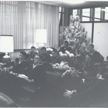 1970 Nov 22 - Opening Day, Lounge w-troops