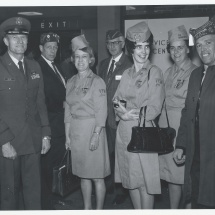 1970 Nov 22 - Opening Day Visitors(15) w-General Moser
