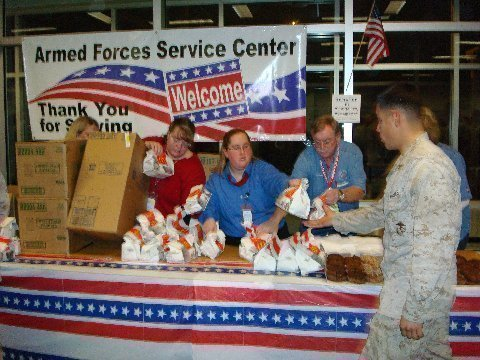Serving those who serve